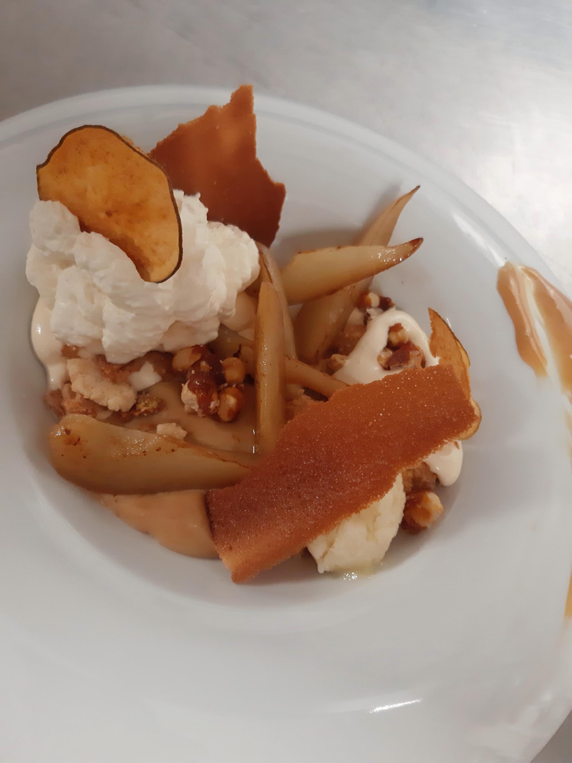 Dessert Restaurant le cocon des neiges aux Ménuires
