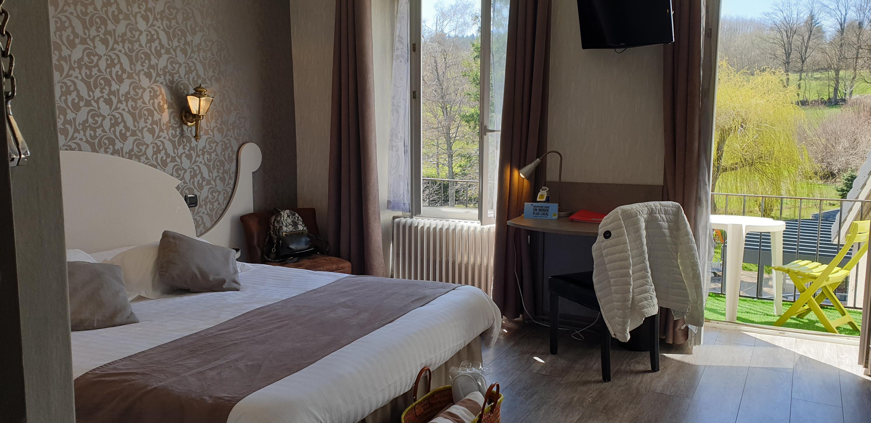 chambre confort avec balcon