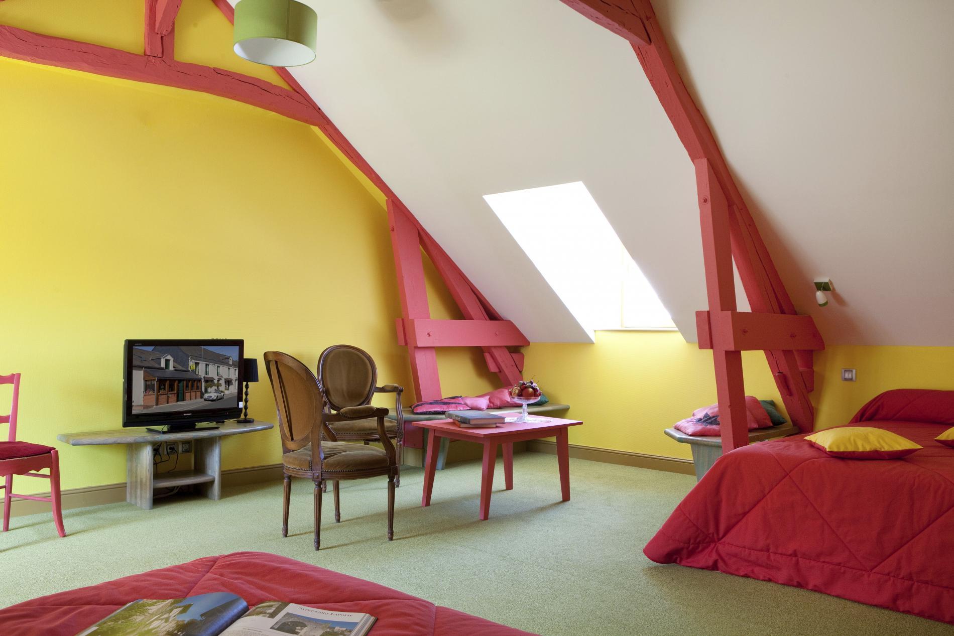 chambre double premium à 2 lits