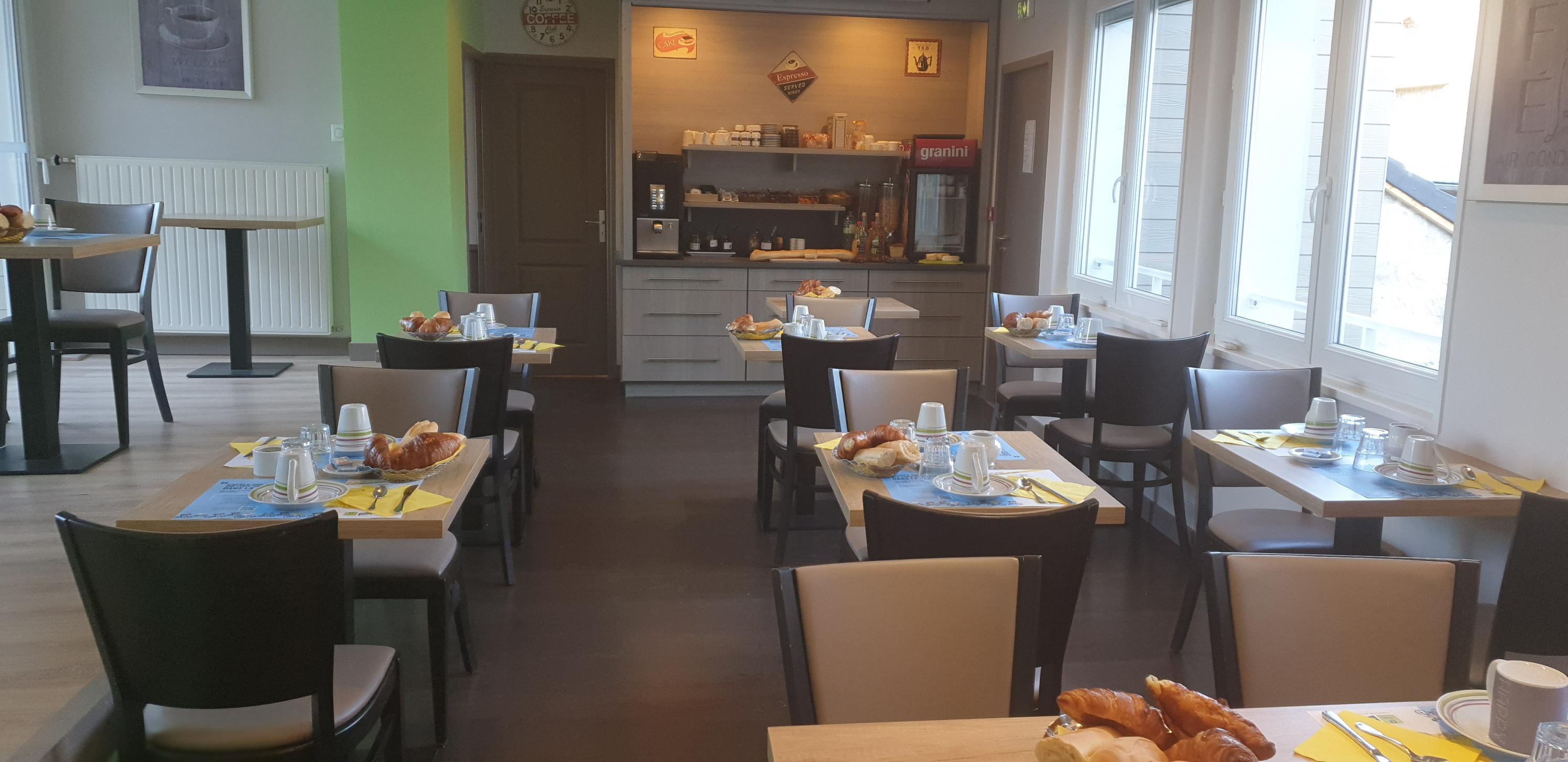 salle des petits dejeuner