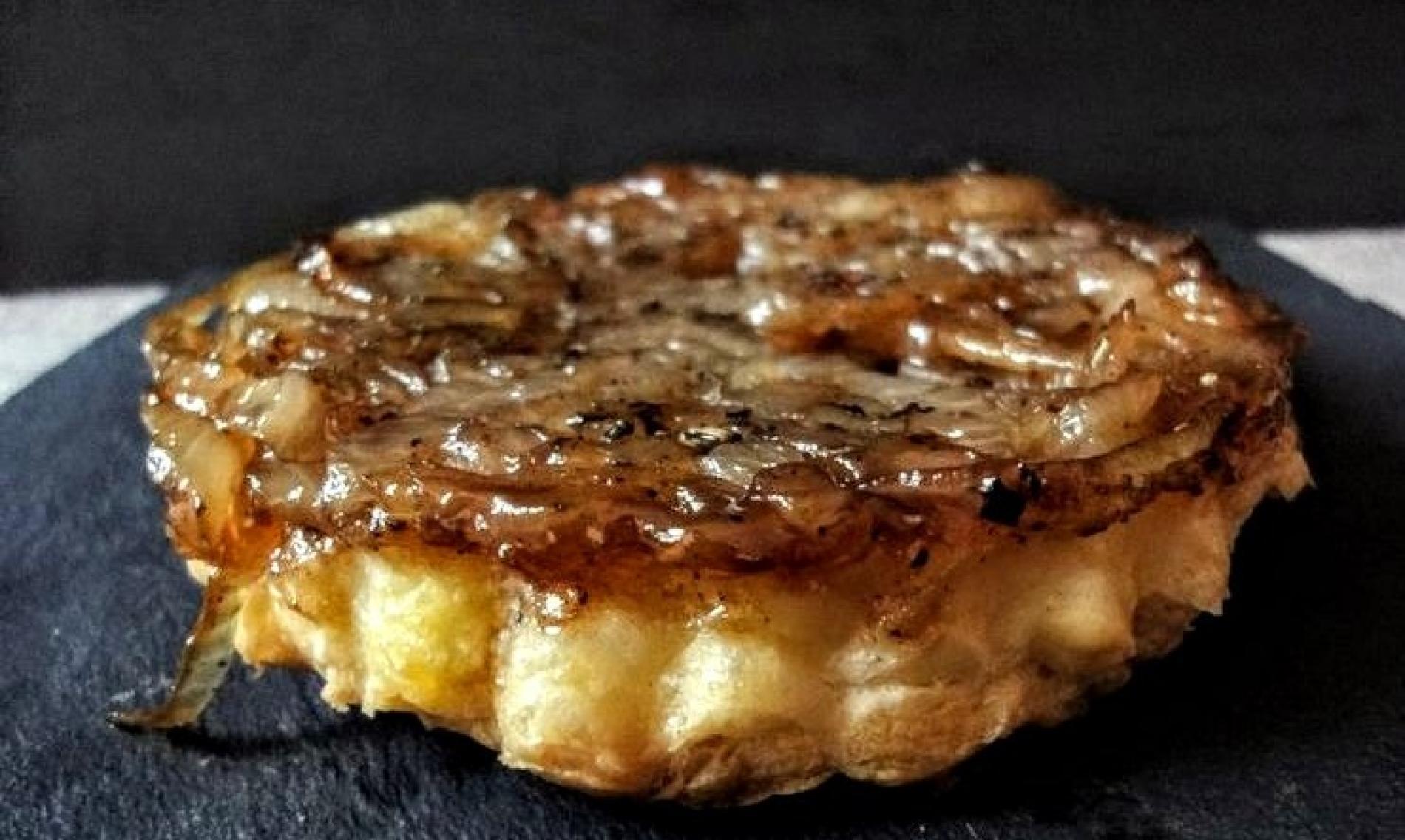 tarte tatin oignons - picodons