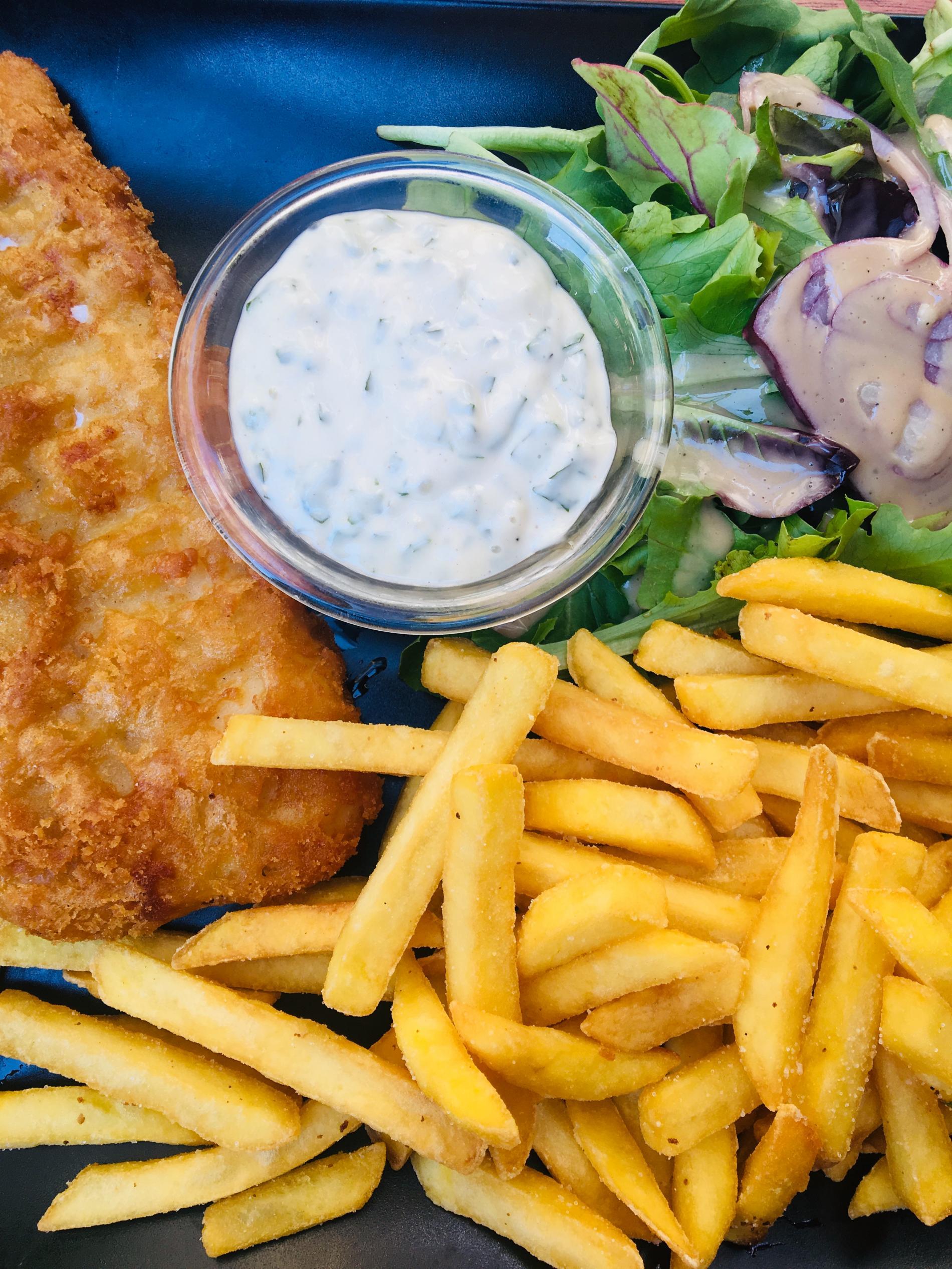 Fish & Chips sauce tartare Le VLT