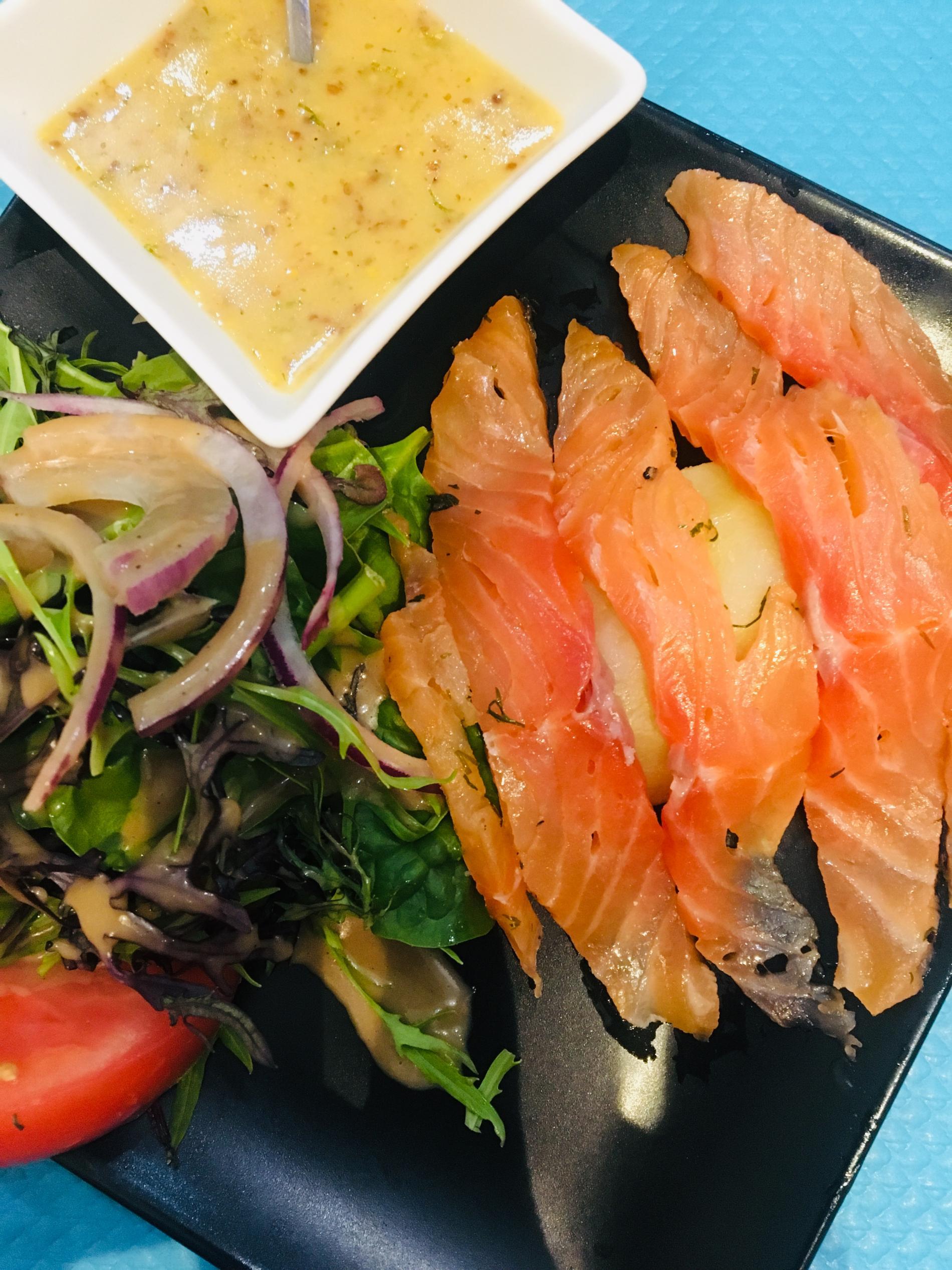 Gravelax de saumon frais