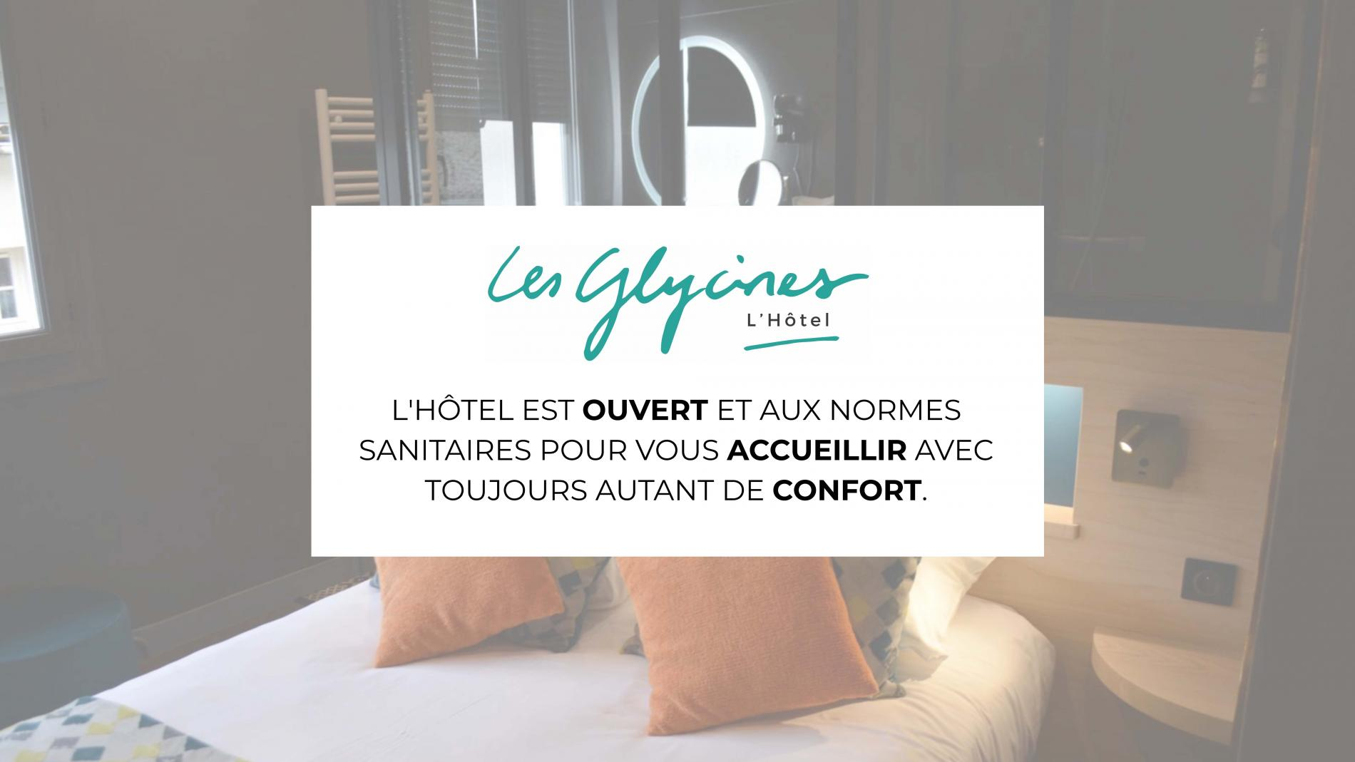 Bedrooms hotel near Niort, Les Glycines