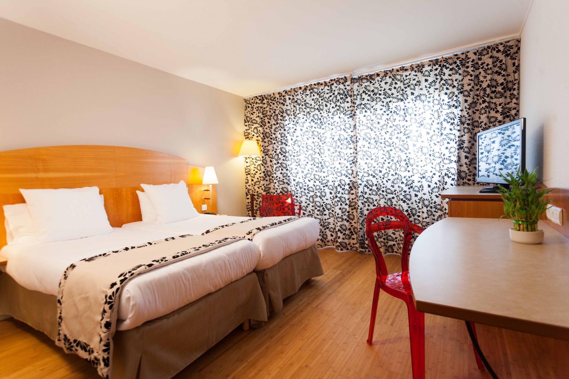 Des chambres d'hôtel 4**** spacieuses  à Nimes