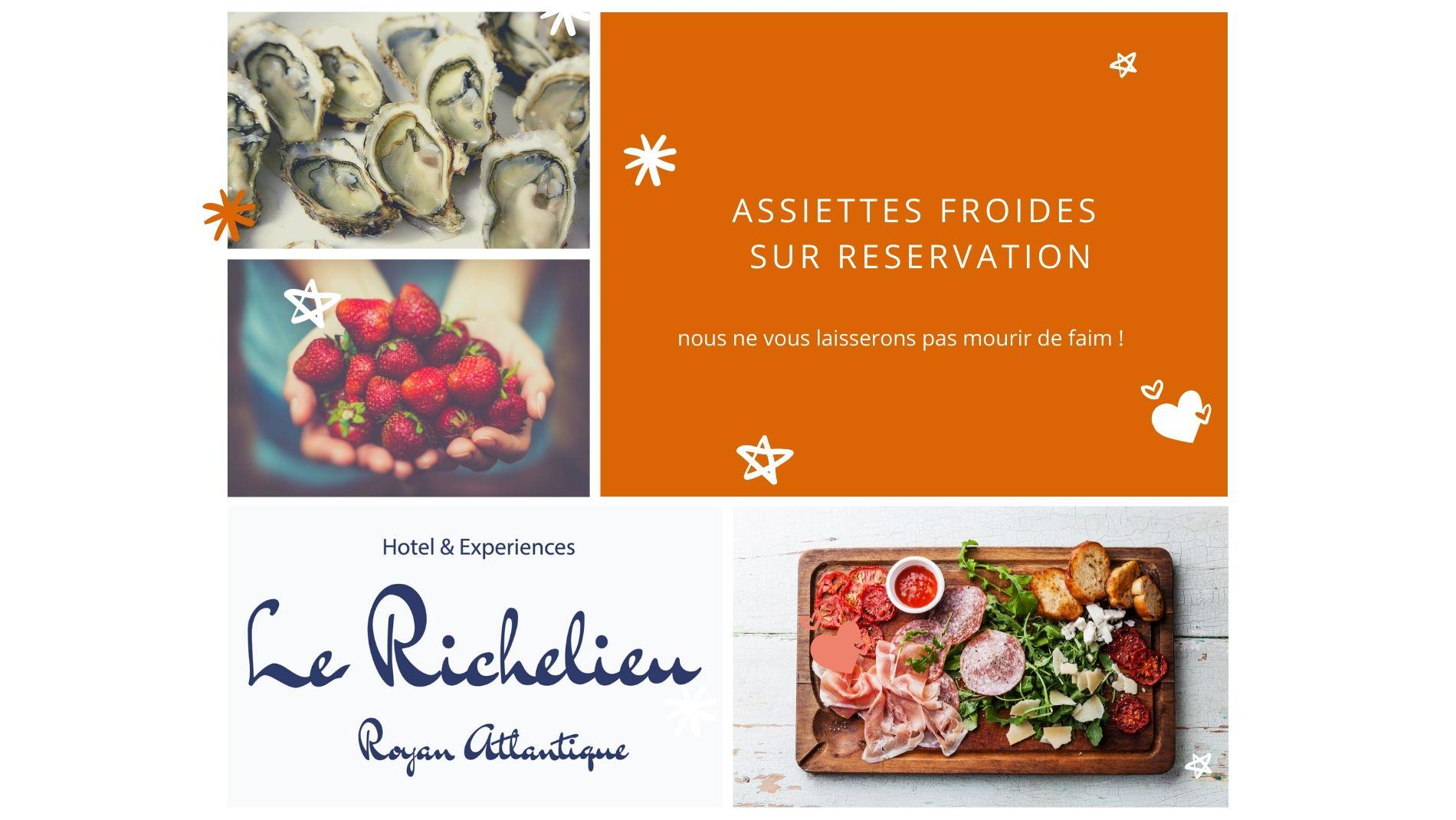 assiette froide room service
