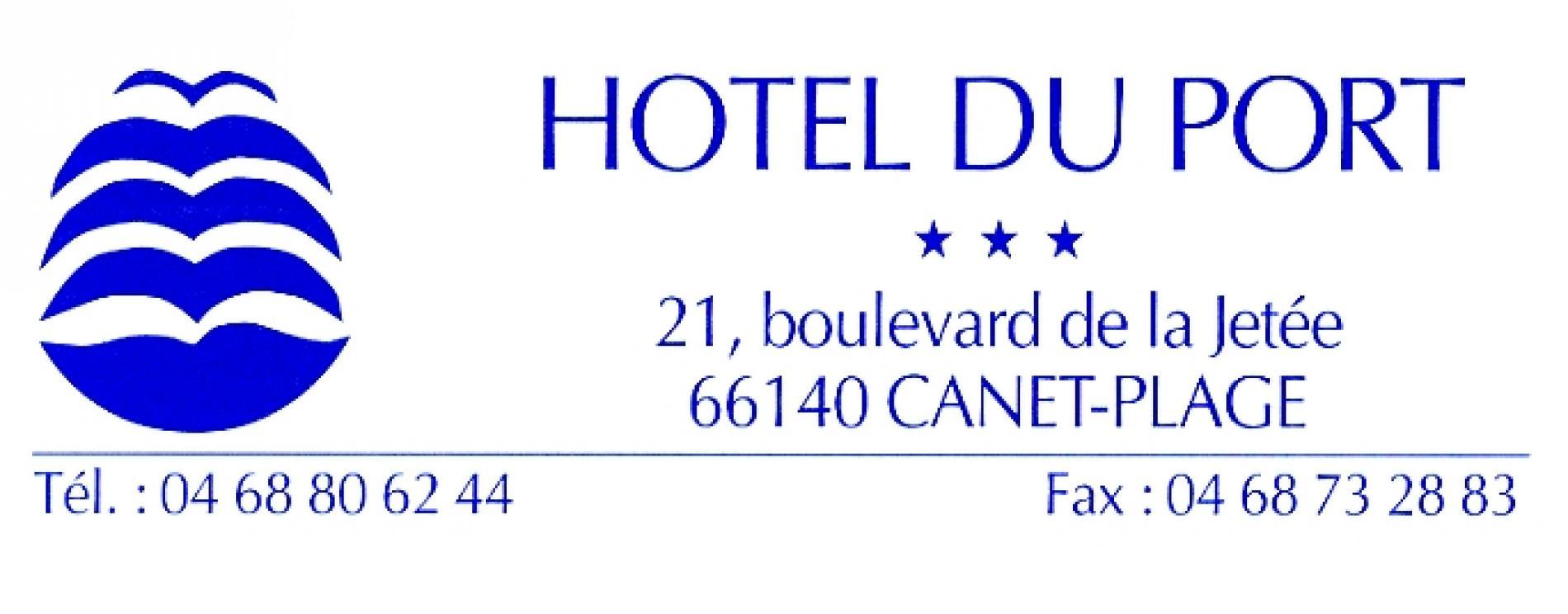 logo hotel du port