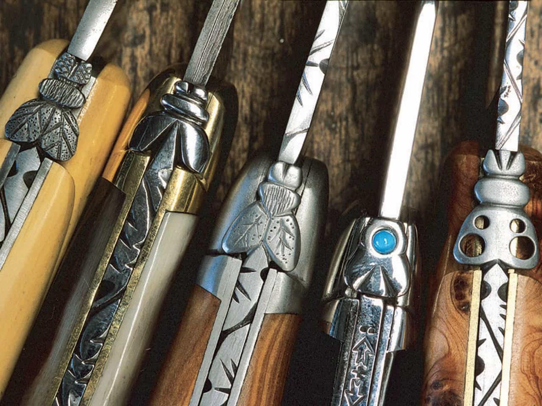 Laguiole et ses couteaux