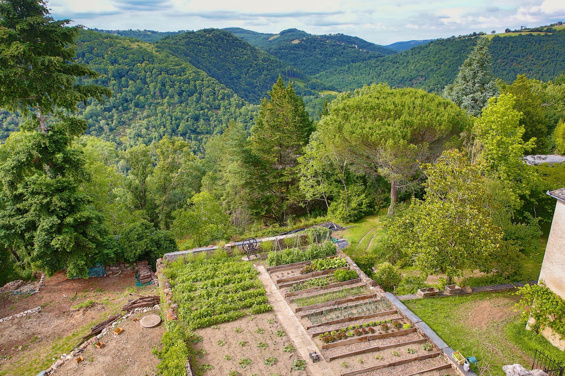 Les jardins de l'Oustal del Barry