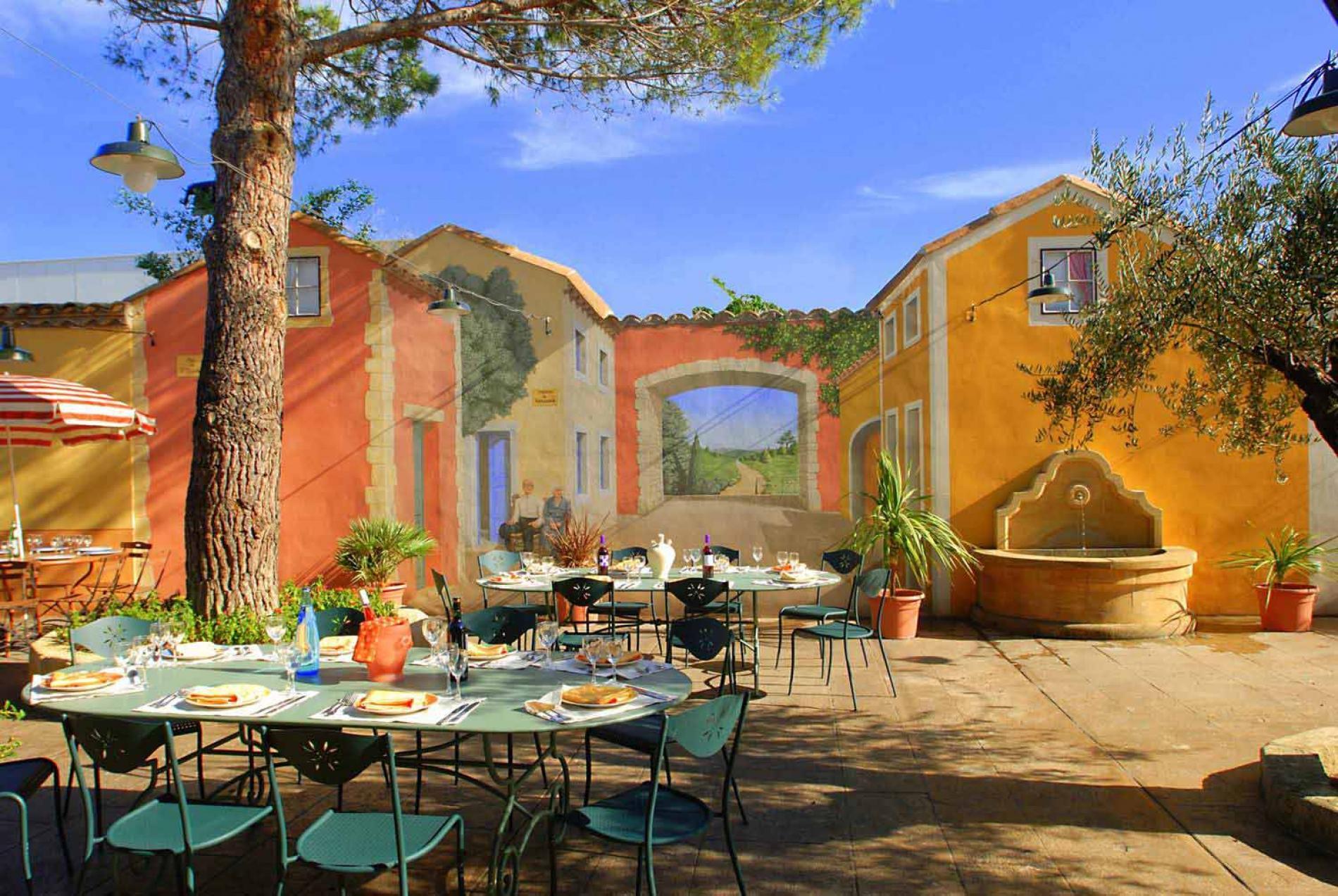 Patio & terrasses provençales
