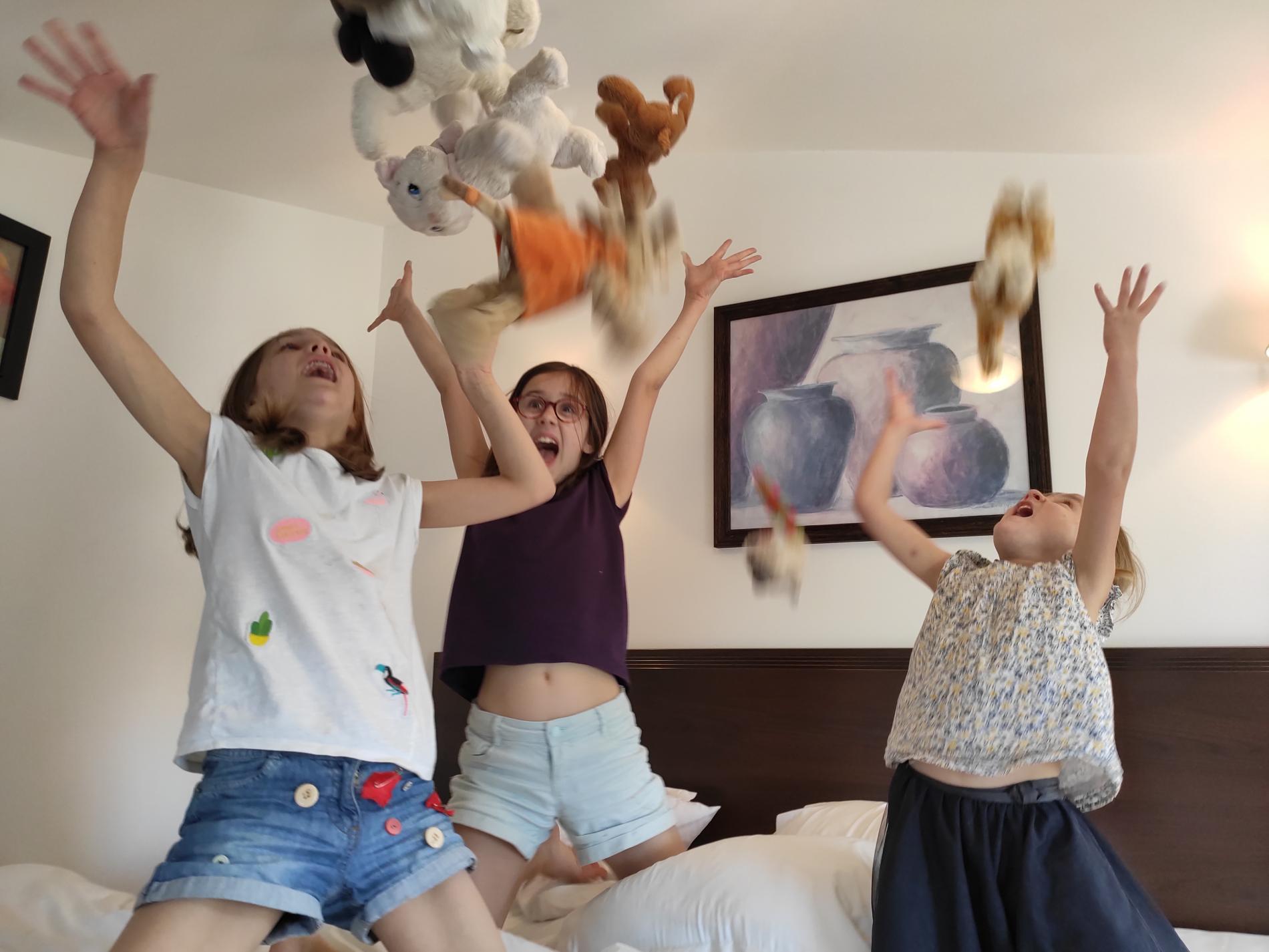 Suite familiale...les enfants à l'hôtel