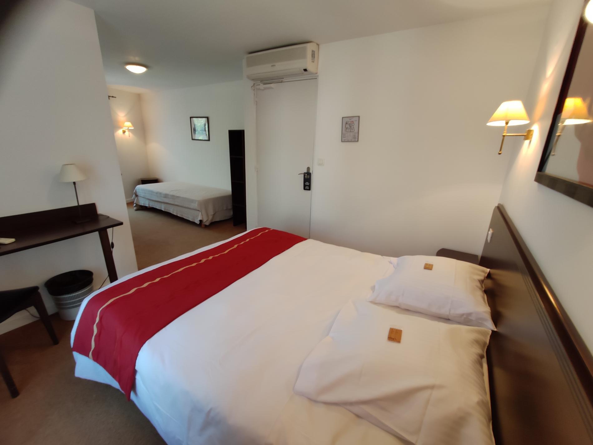 Chambre confort 1 à 4 personnes