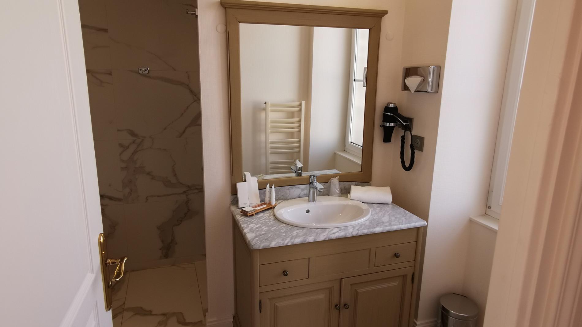 Salle de bain Deluxe au Château