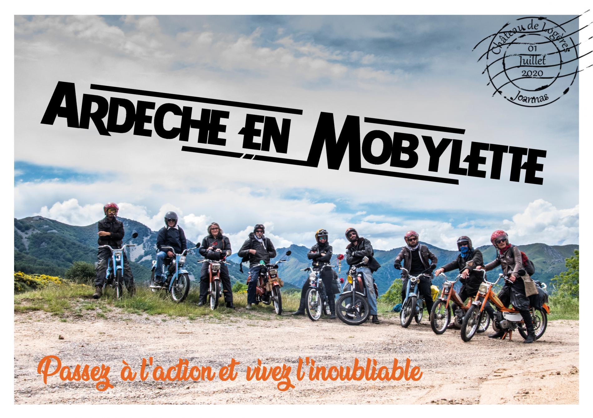 L'Ardèche en Mobylette