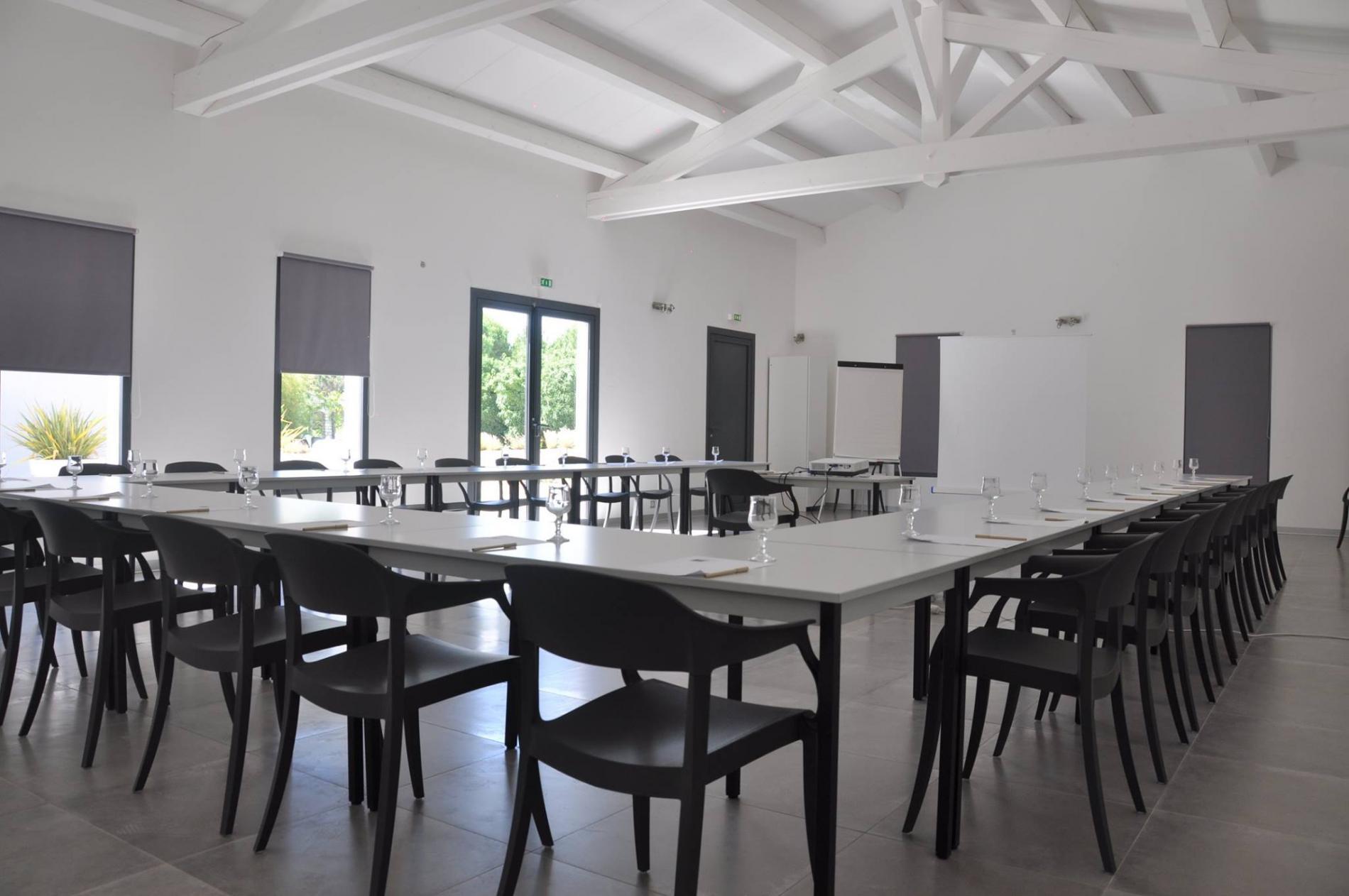 Salle de séminaire, réception à Barjac - Provence