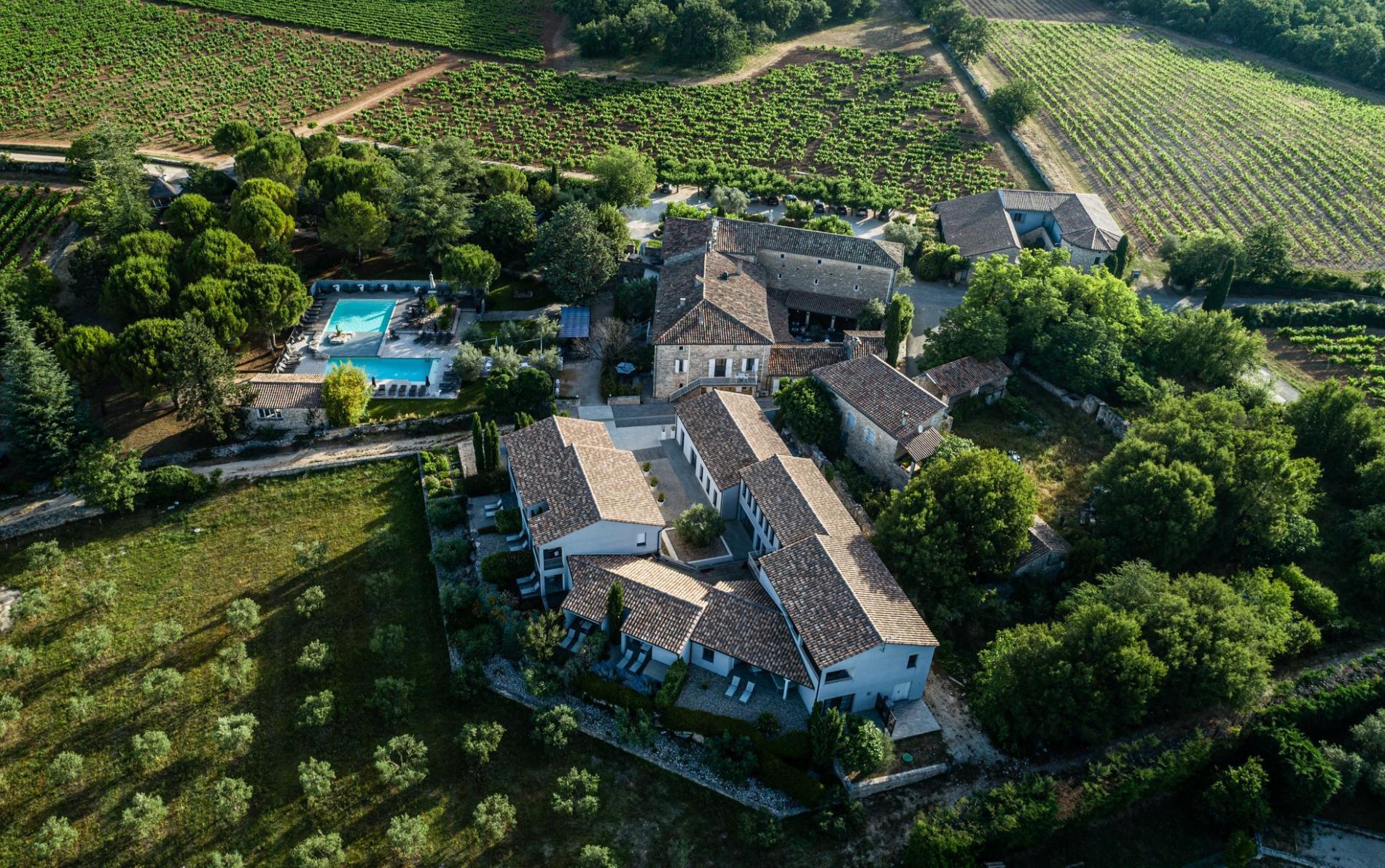 Hôtel Spa Bien-être à Barjac en Provence - Domaine Mas du Terme
