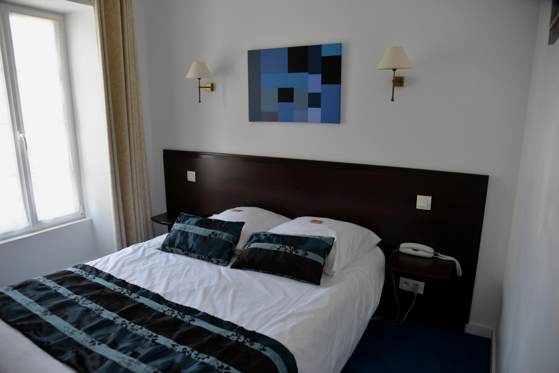 Chambre standard, lit de 140 cm