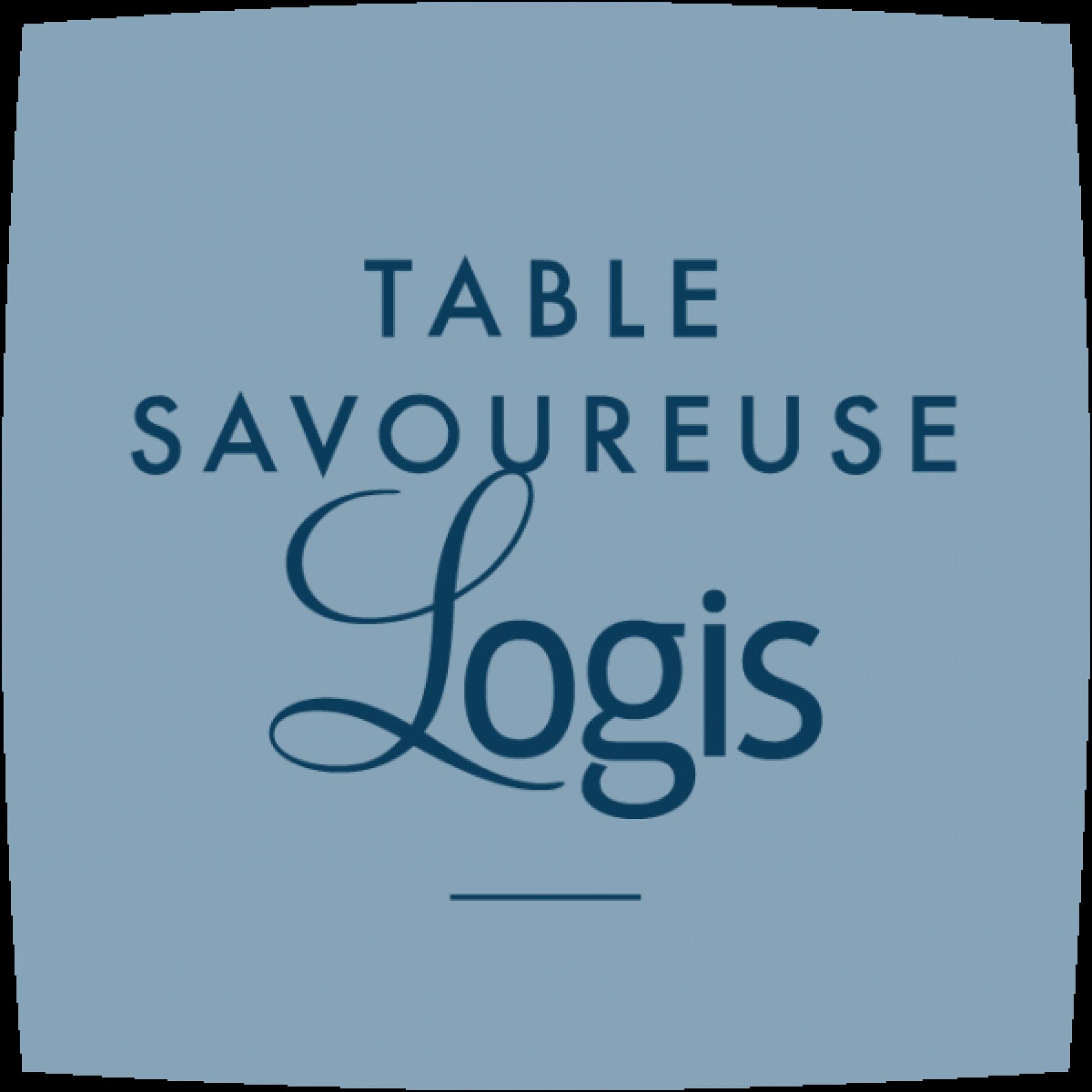 Logo Logis Restaurant Savoureux, Domaine du Mas du Terme, Barjac