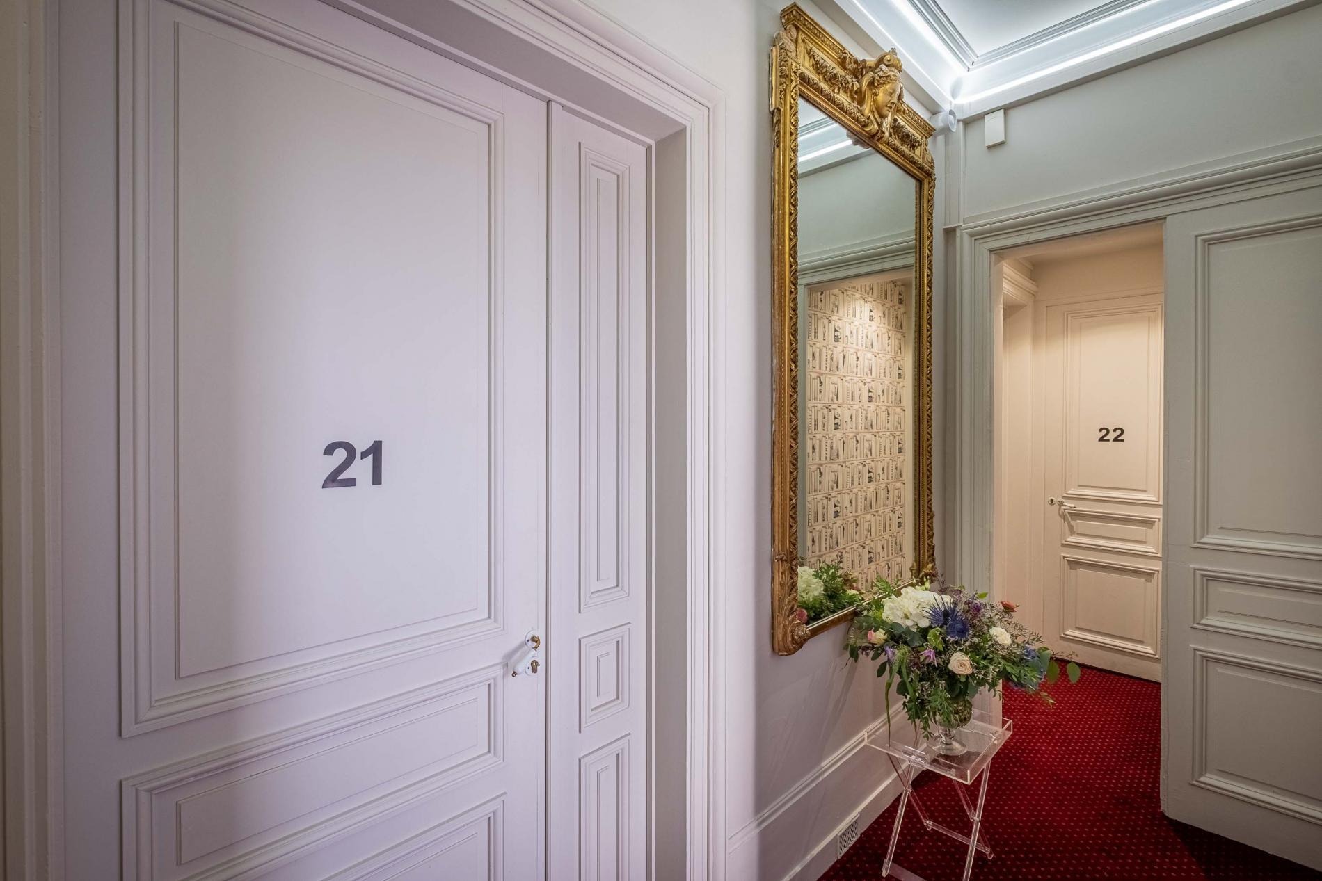 Hôtel de Paris Limoges - Hall d'étage