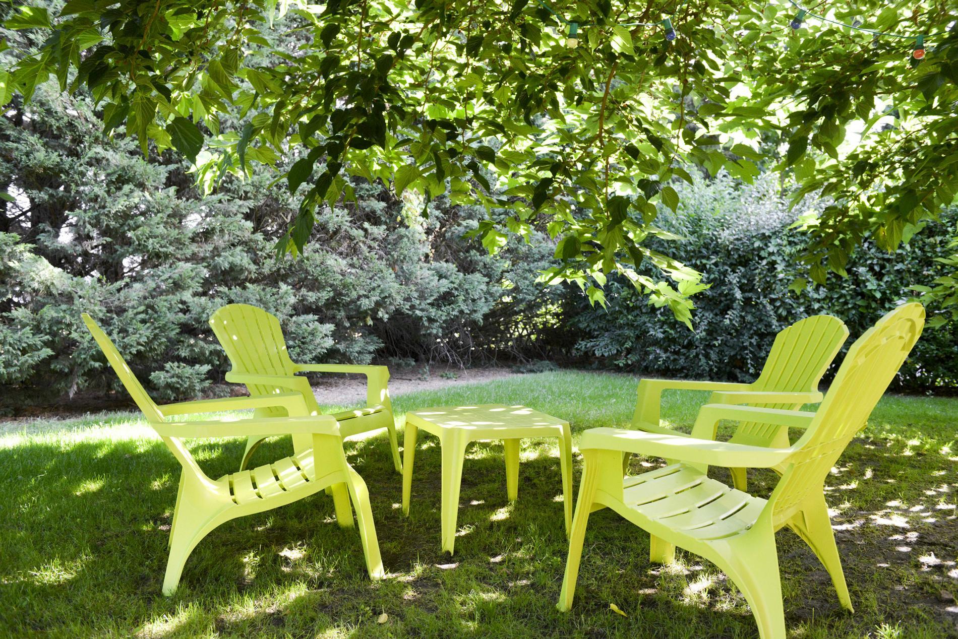 Pause au jardin au coeur de châteaux de la Loire,  Le Vieux Fusil