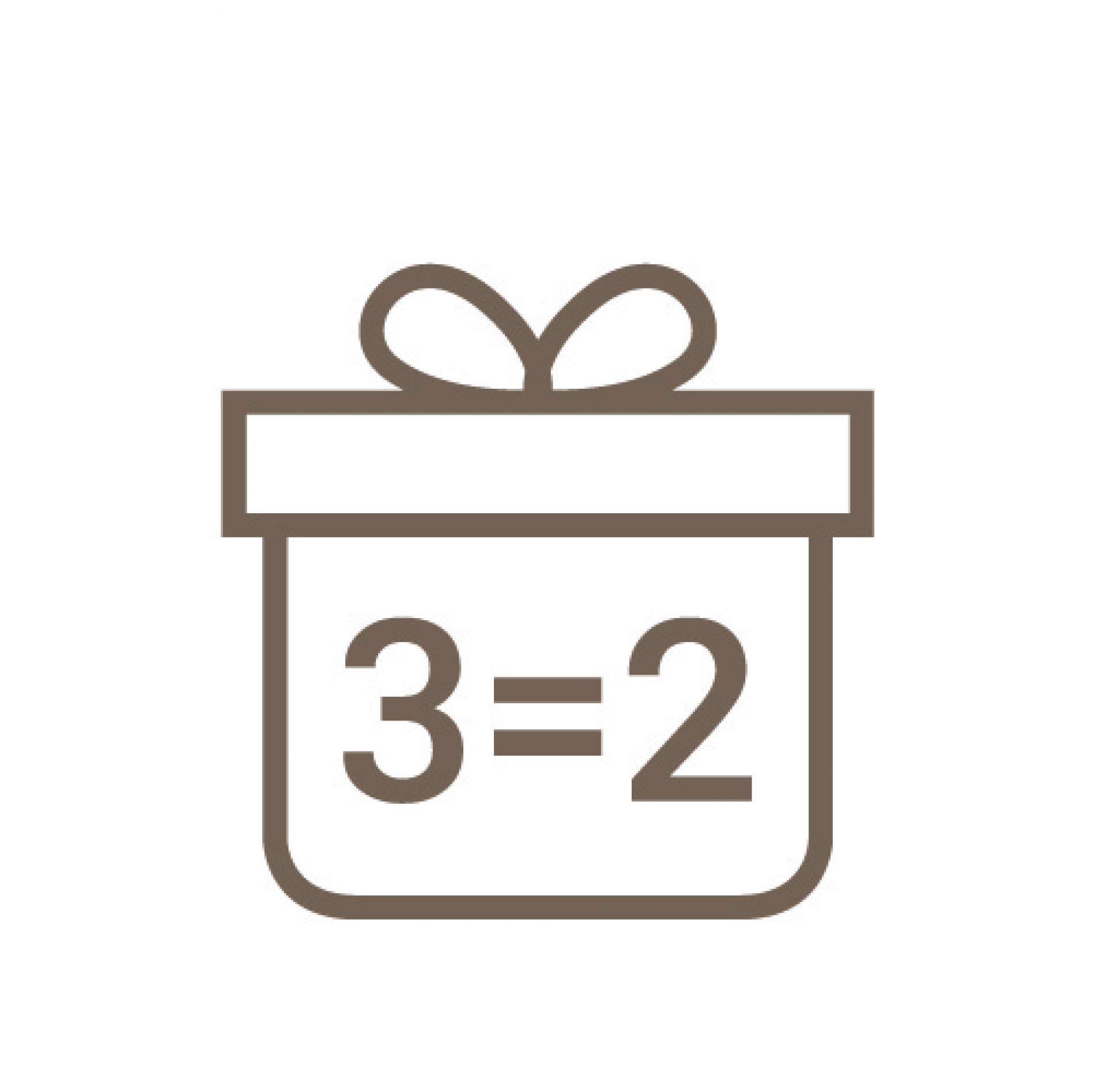OFFRE 2=3 jusqu'au 30 novembre : payez 2 nuits, la troisième est offerte