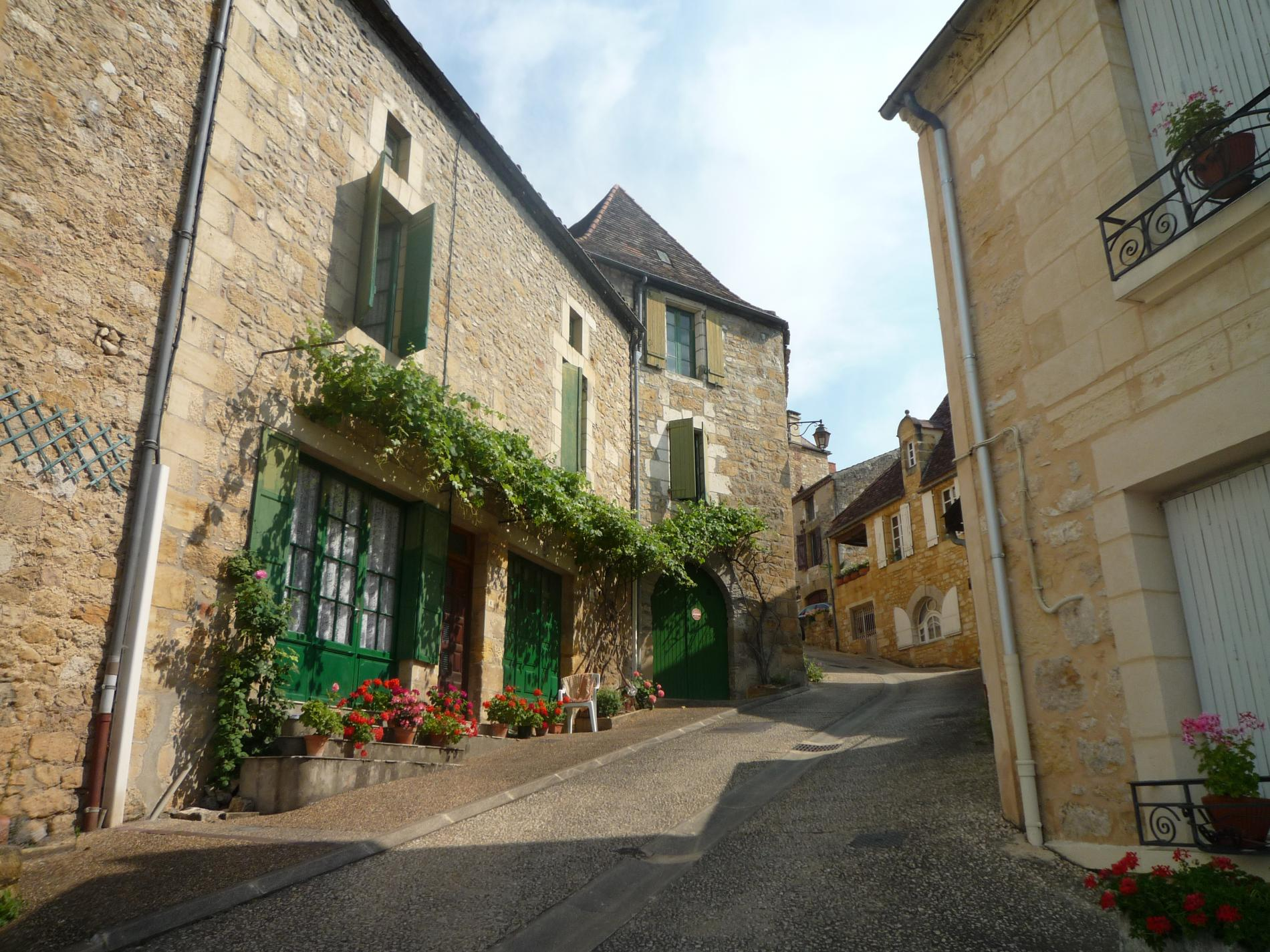 Alley of the Village of St Cyprien