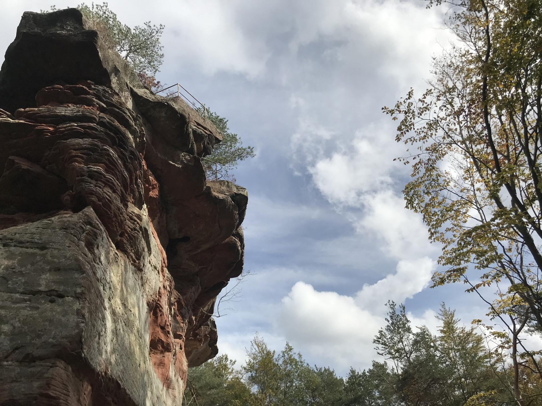 A la découverte du Rocher des Bohémiens