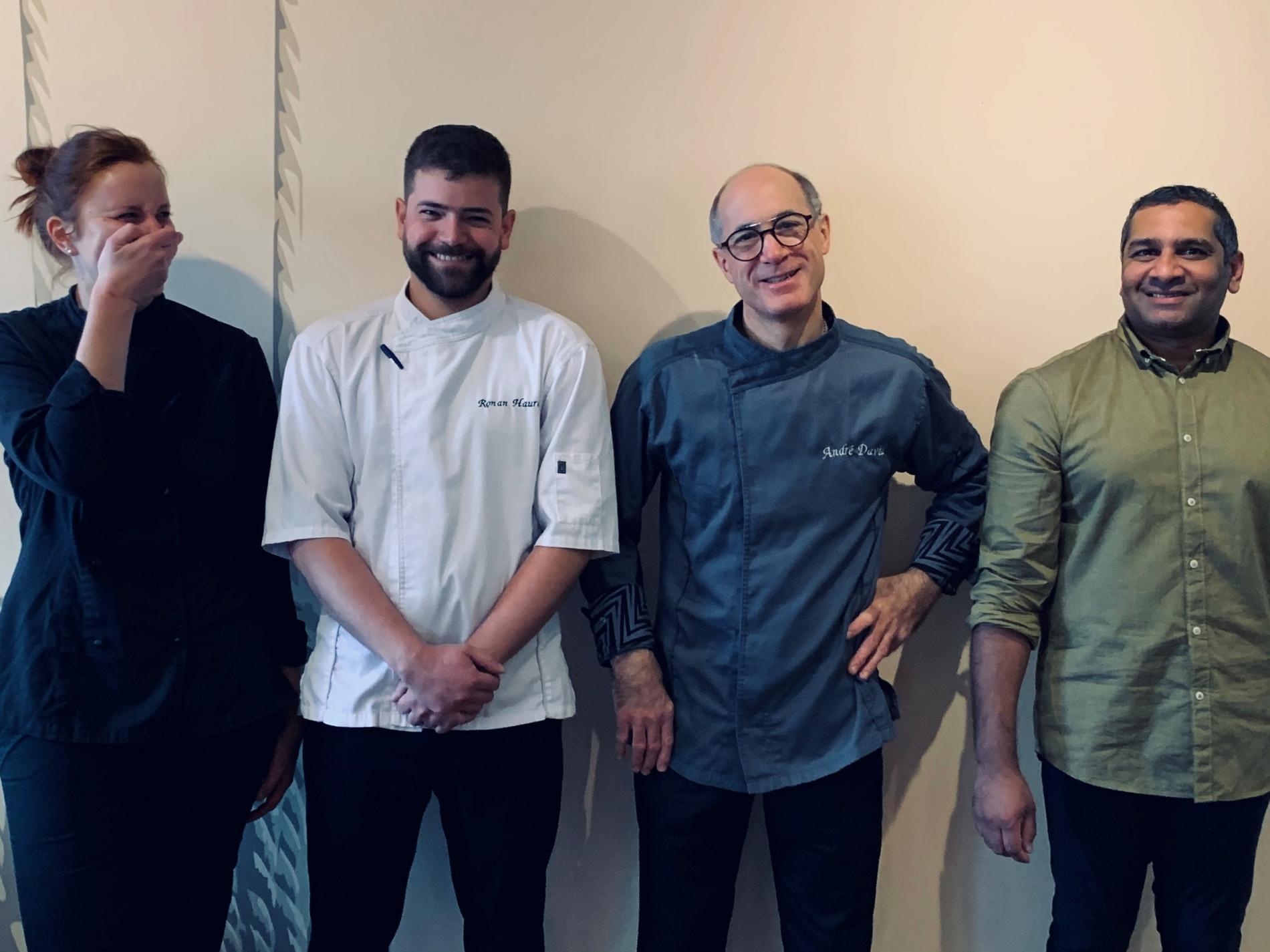 La Team du restaurant Atlantide