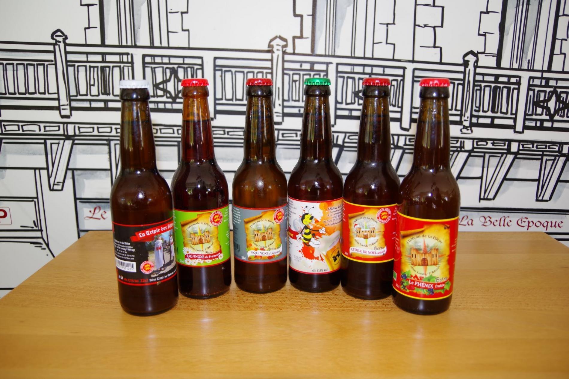 Bières Locales Le Château de la Bière Lonlay L'Abbaye