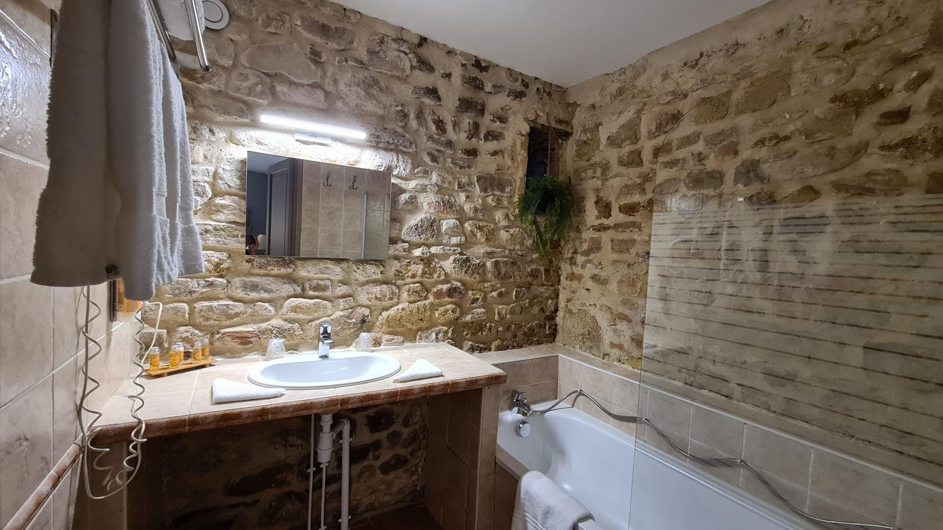 Salle de bain chambre confort plus