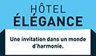 Logo Logis hôtel élégance Le cheval Blanc, Bléré