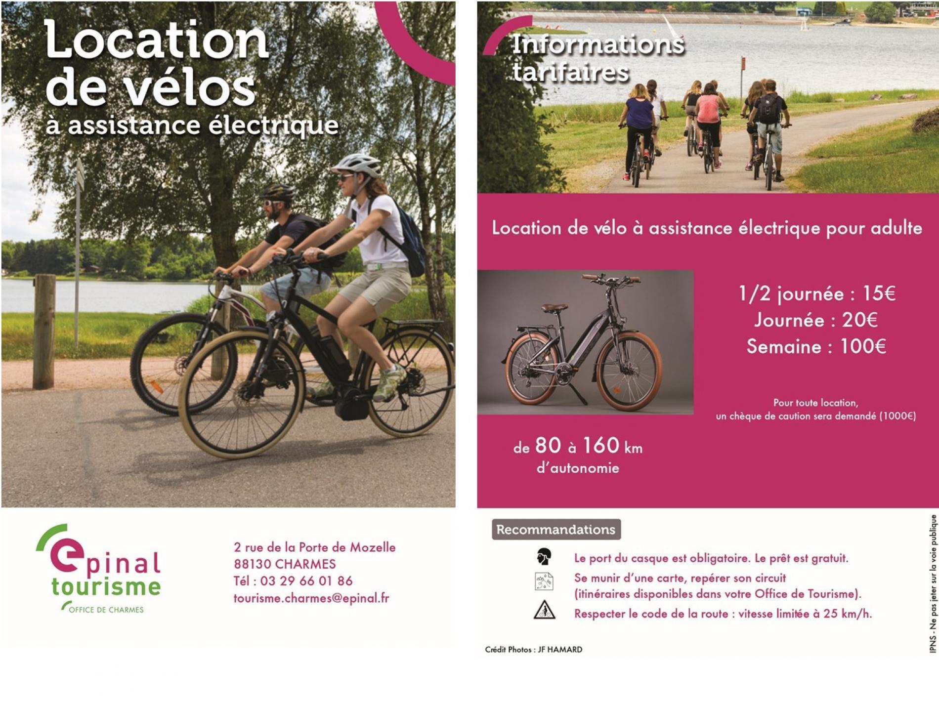 Location de Vélos Office de tourisme