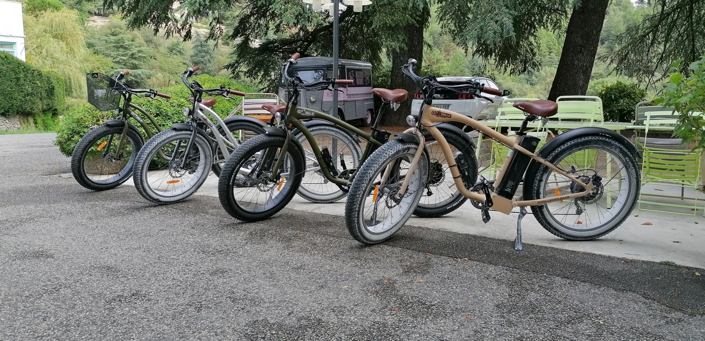 Location de vélos électriques à l'hôtel