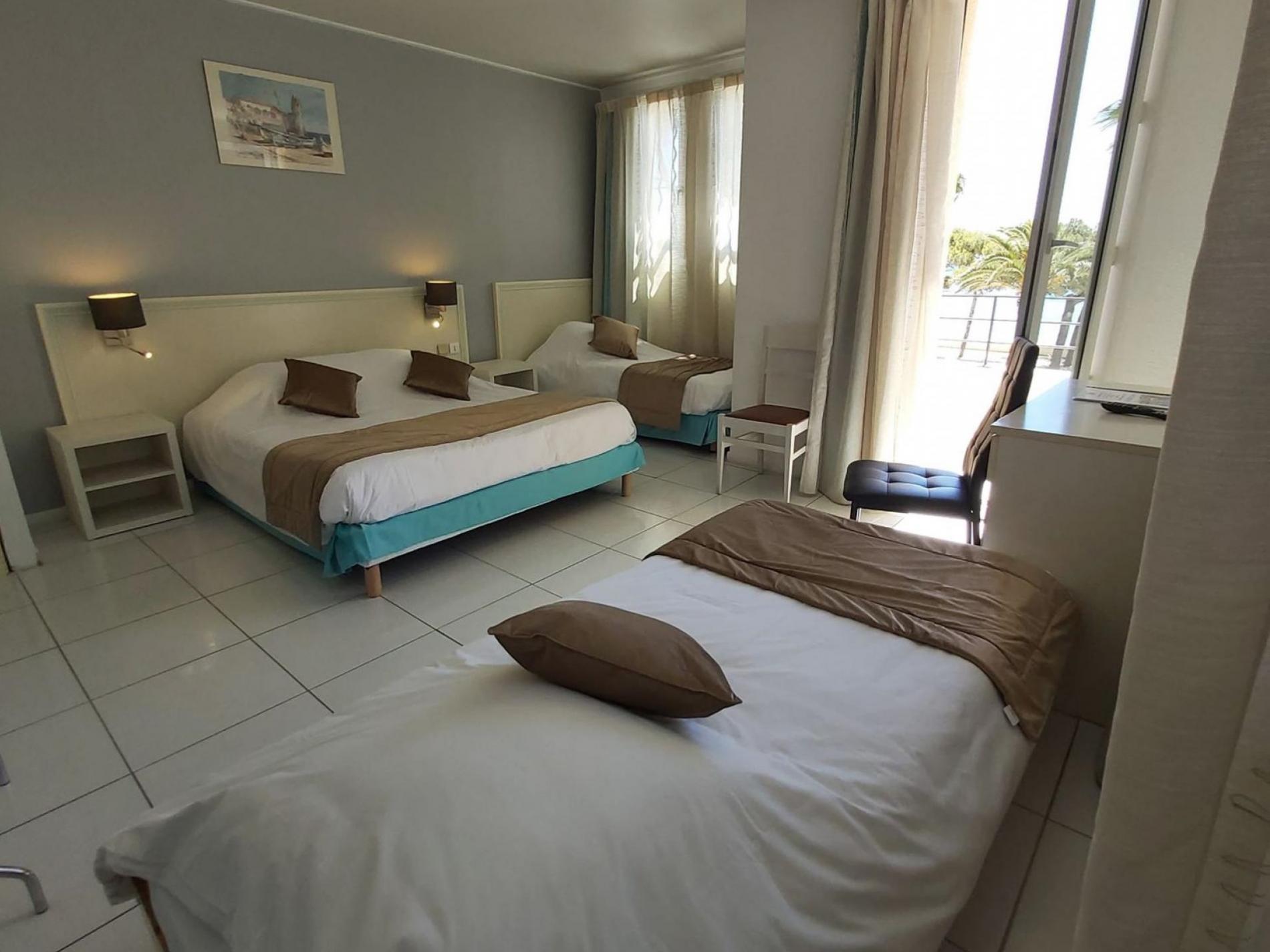 Quadruple Room - Sea view