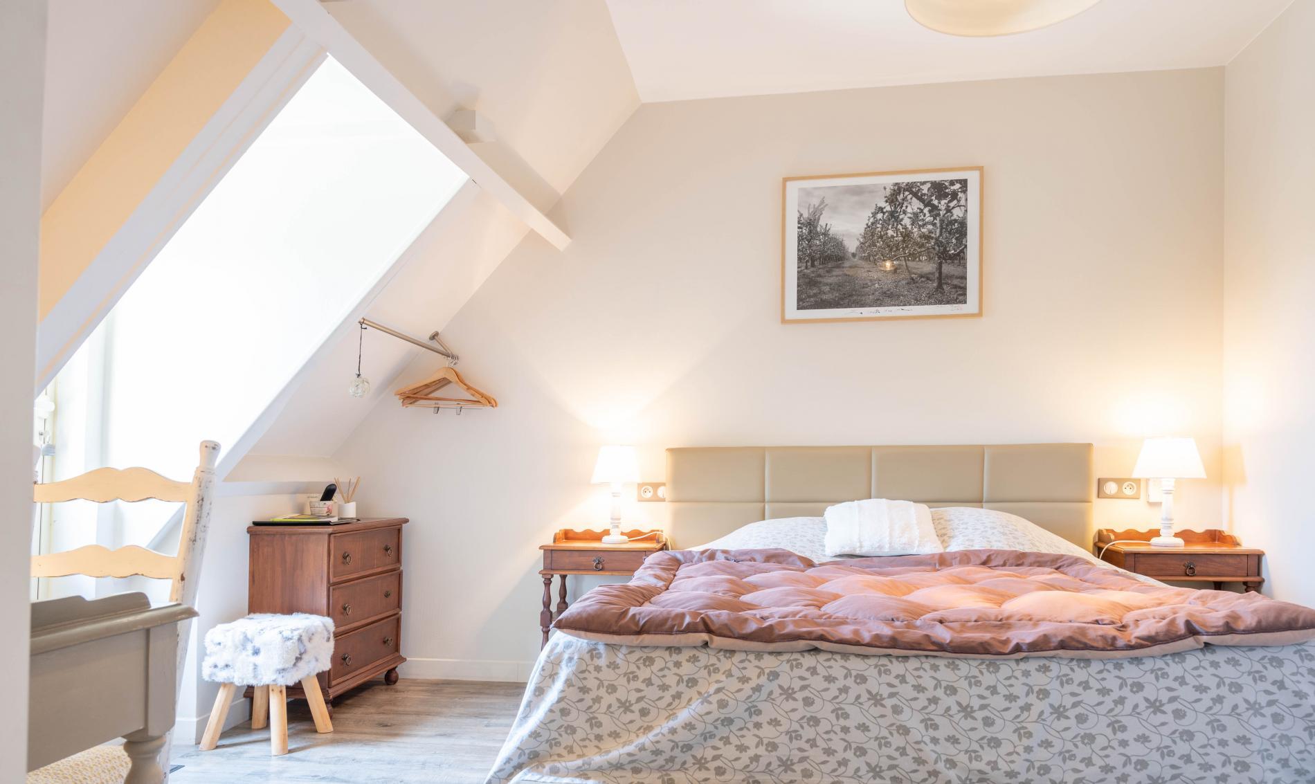 Chambre double avec terrasse