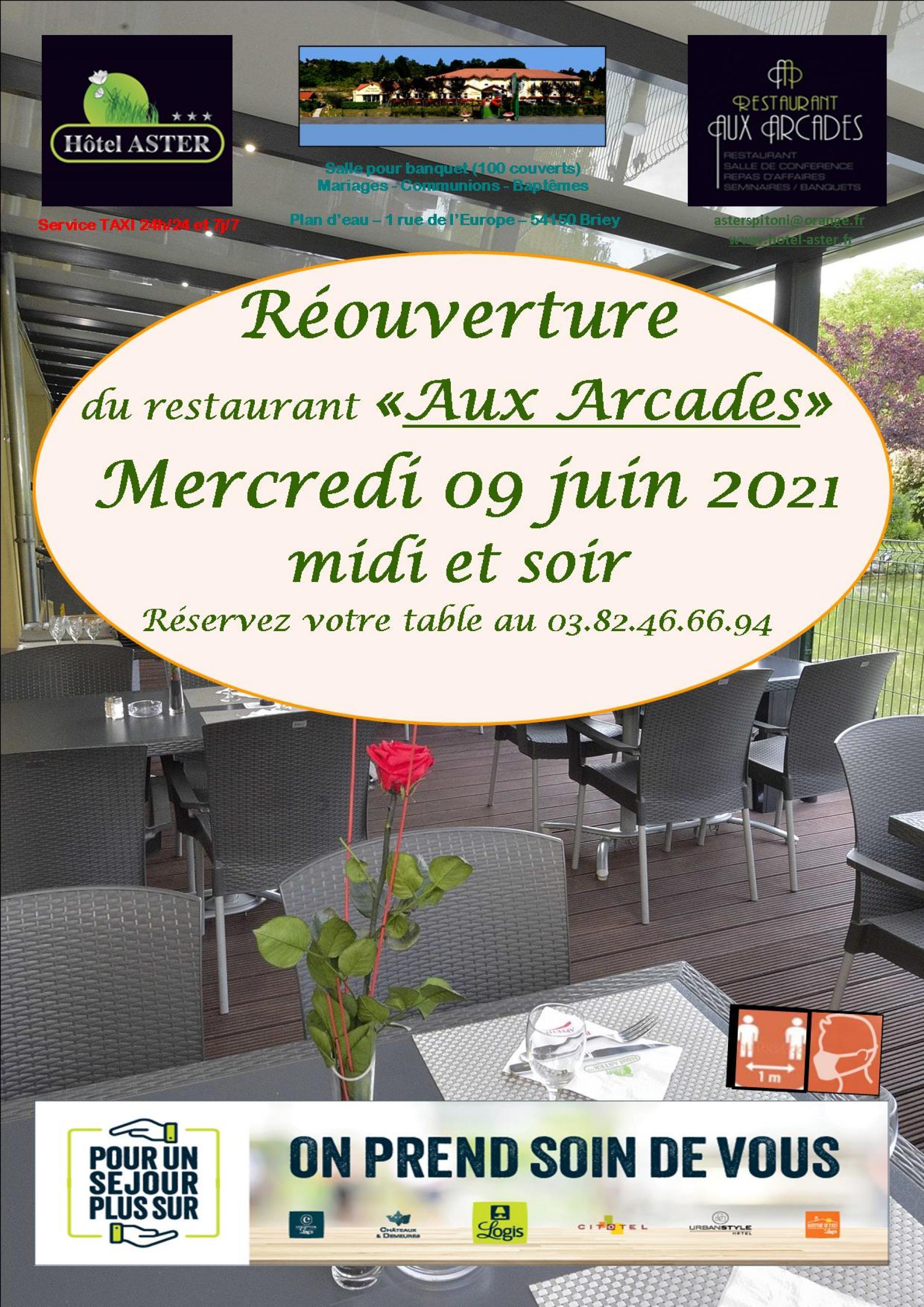 Réouverture du restaurant
