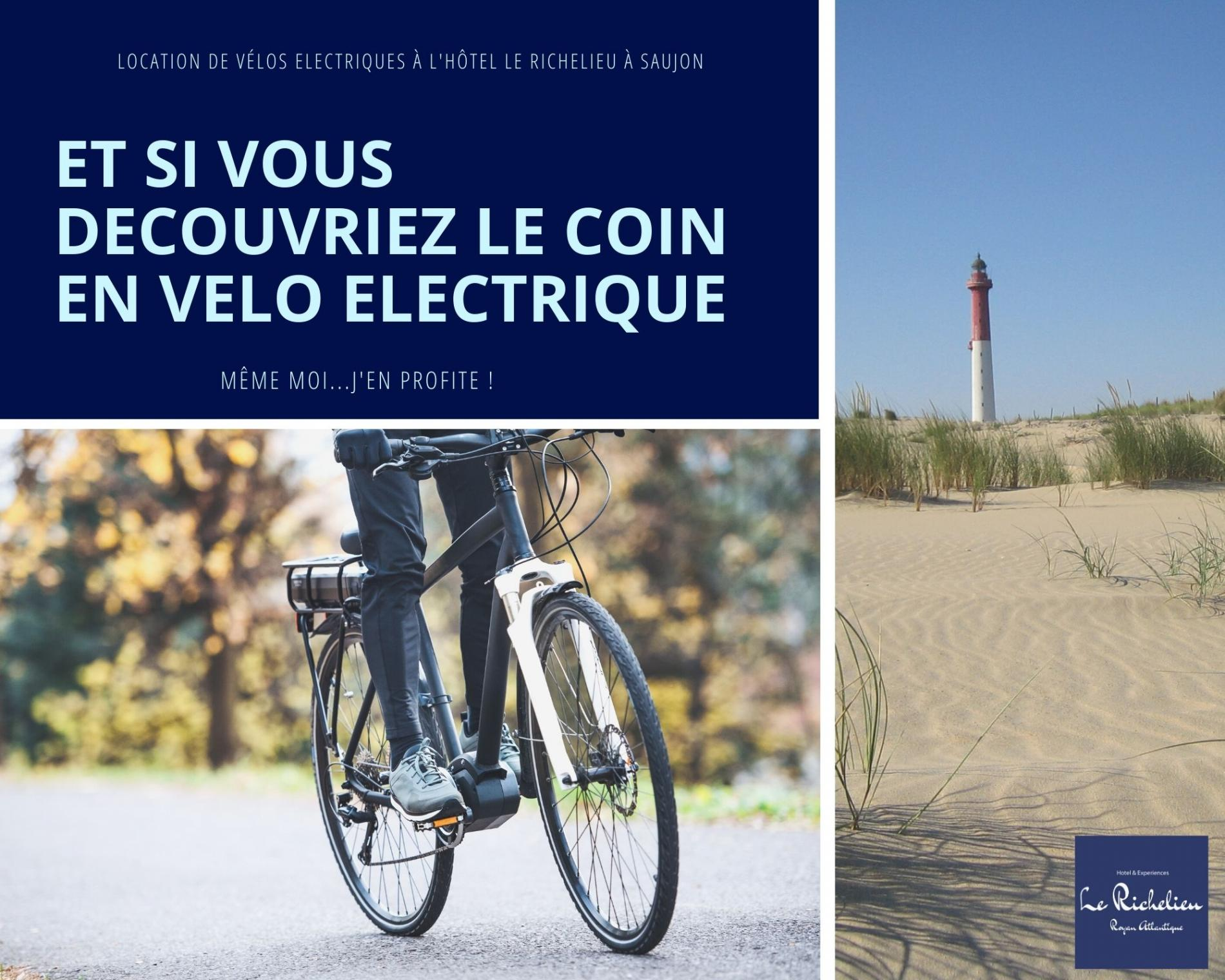 Location de vélos à assistance électrique à l'hôtel