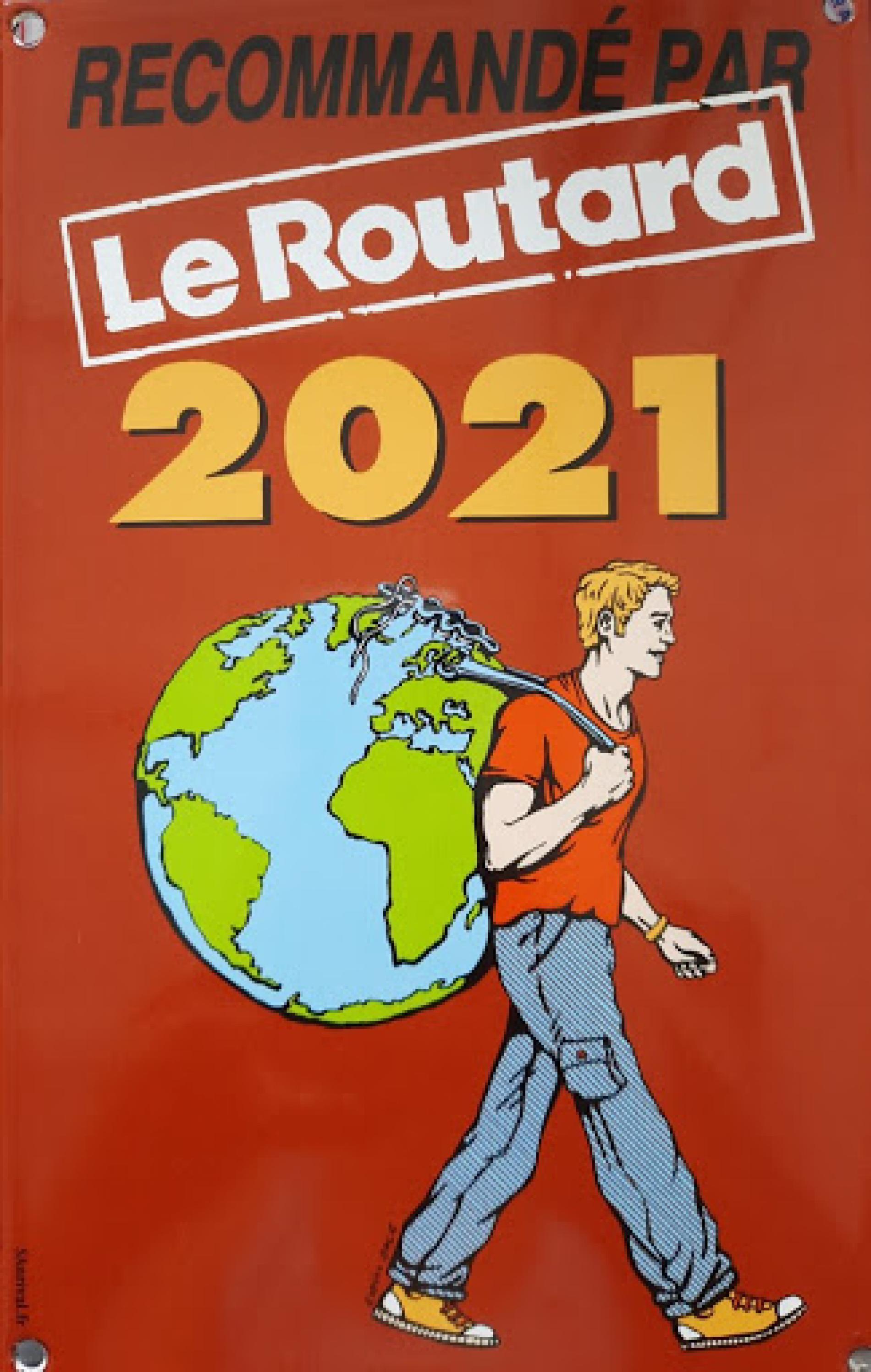 Recommandé par le guide du routard 2021