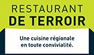 Logo logis restaurant terroir Sainte mère à Sainte-Mère-Église, Normandie