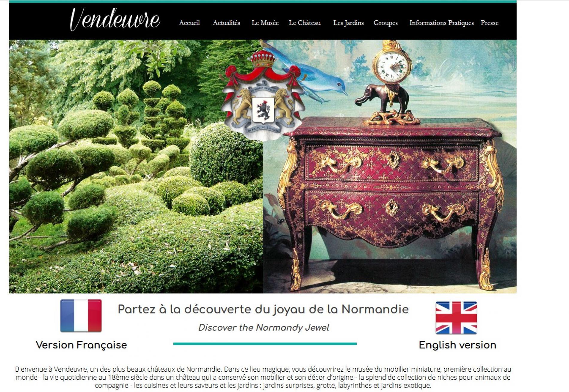 Musée  & Jardin  du  Château  de Vendeuvre