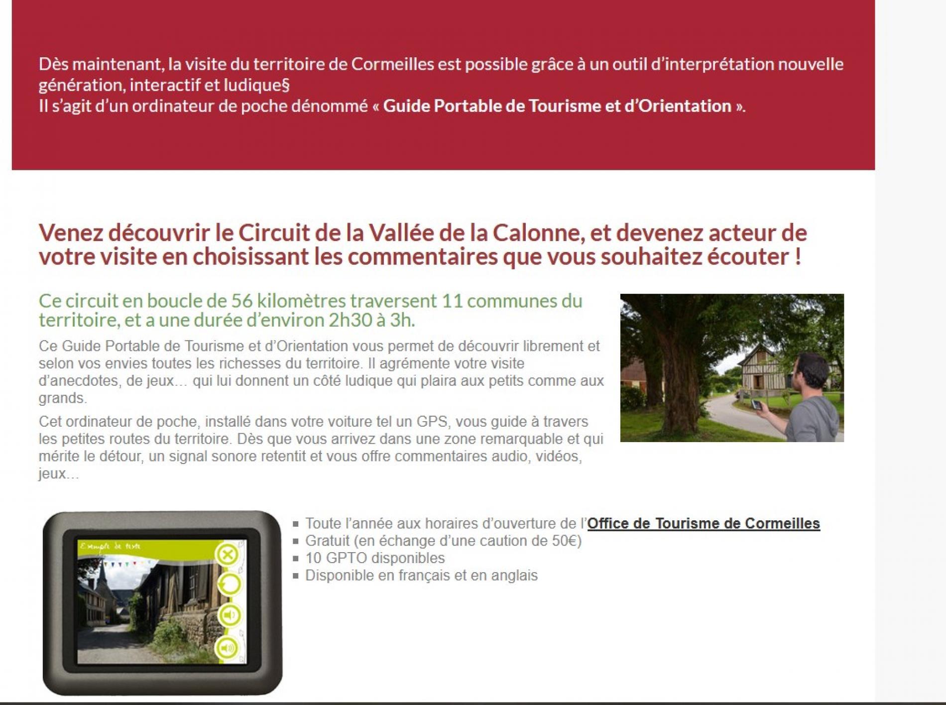 Circuit  De  La  Vallée De  La  Calonne