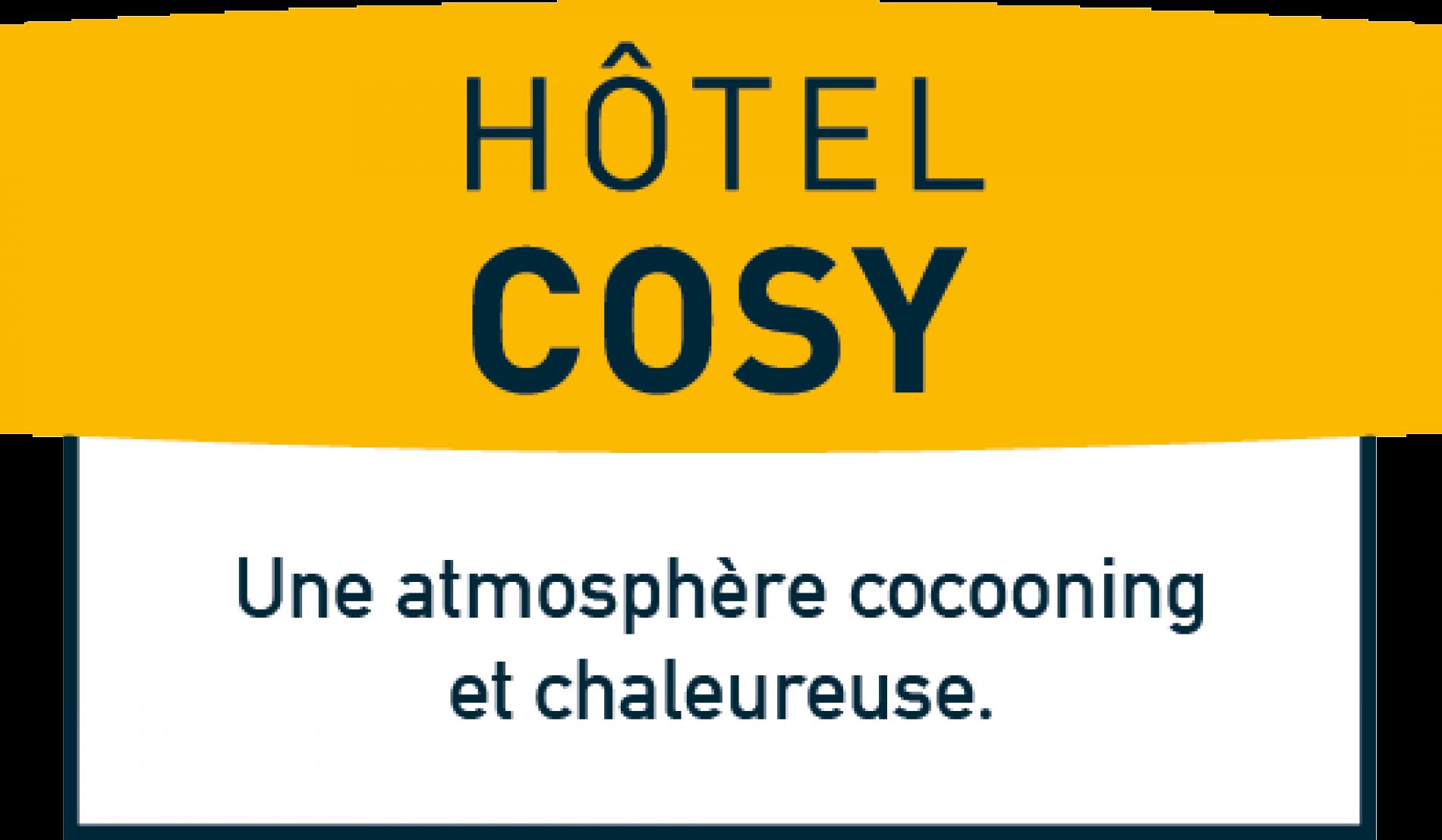 Nouveau logo logis hôtel cosy