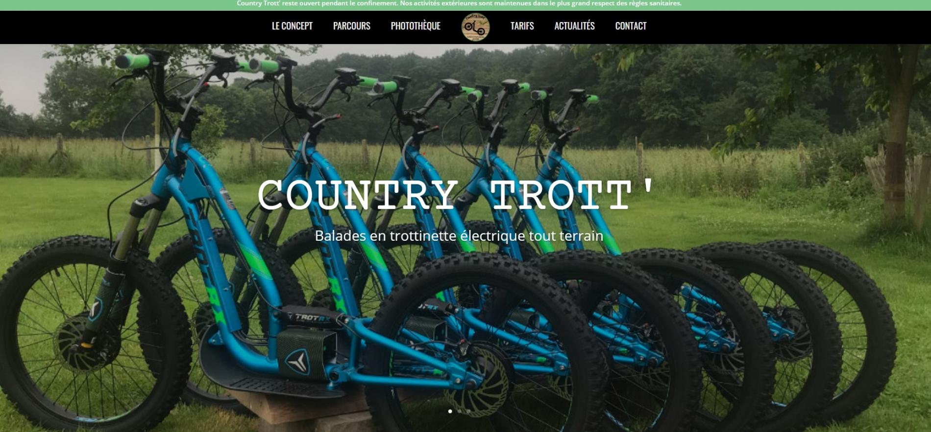Country  Trottinette