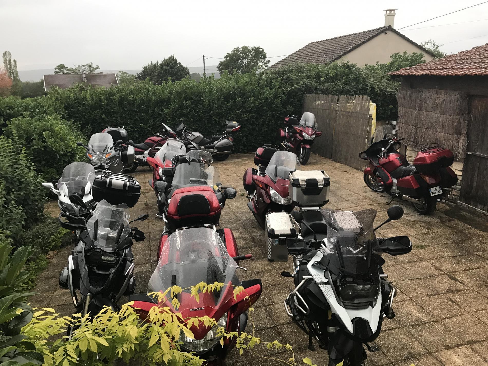 Groupe motos