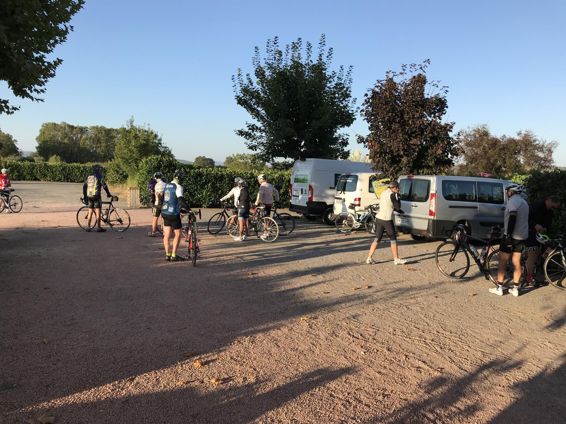 Groupe cycliste