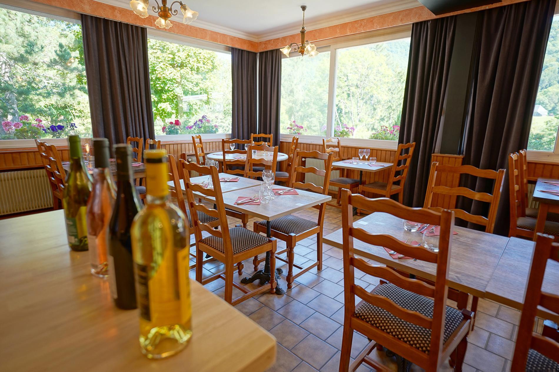 La salle de restaurant du Griou