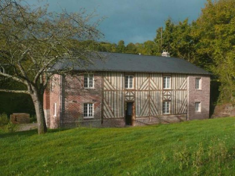 Maison en colombages et briques - DOUVILLE EN AUGE