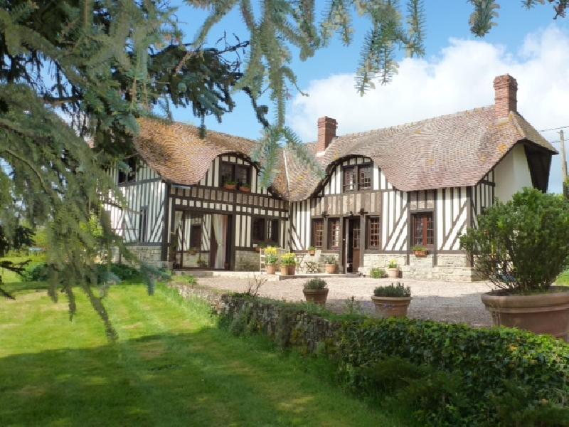 Ensemble de Maison Normande avec trés belle vue sur la campagne sans nuisance - CAMBREMER