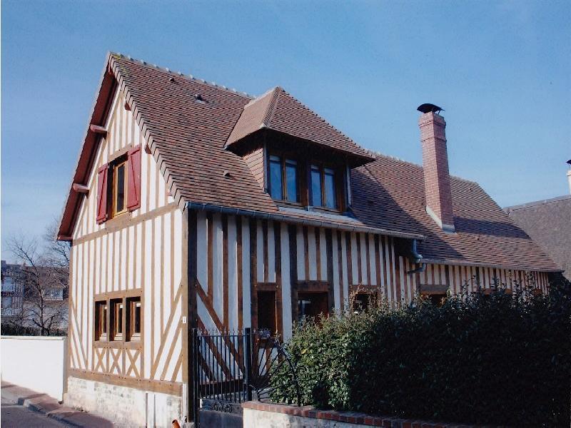 Maison de village - mer - villerville